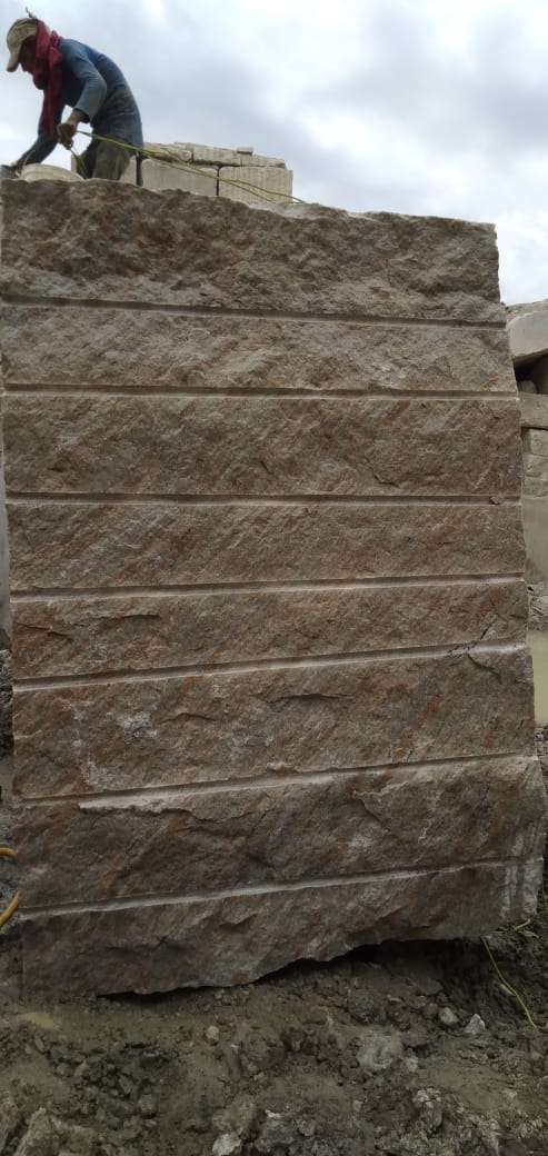 Competitive Kashmeer White Block Indian Natural Granite Blocks