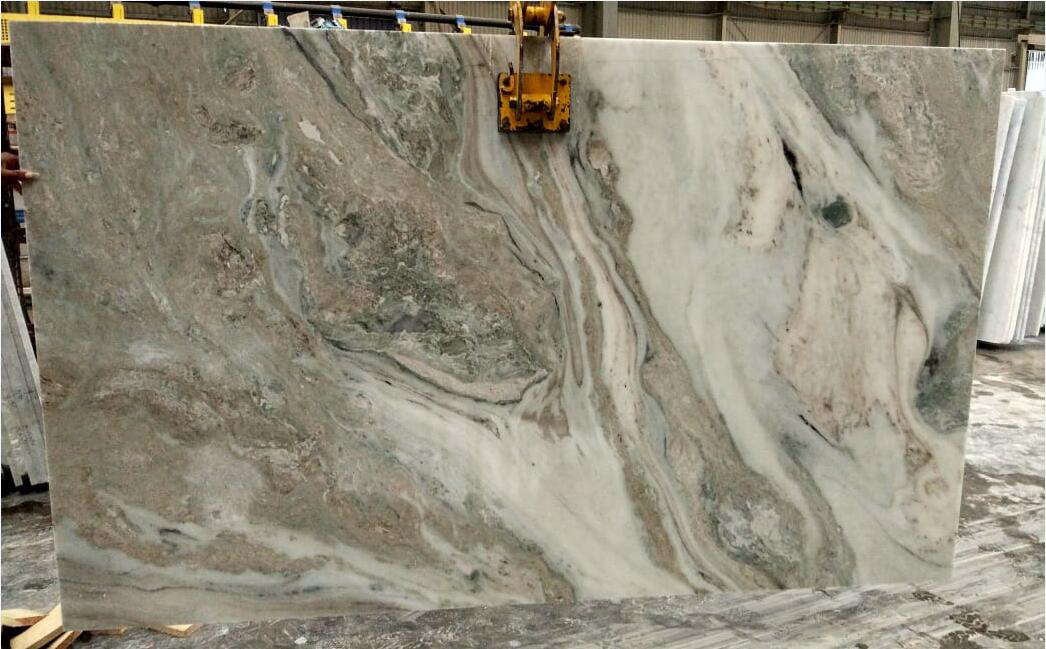 Competitive Marble Polished Slabs Frozen White Slabs