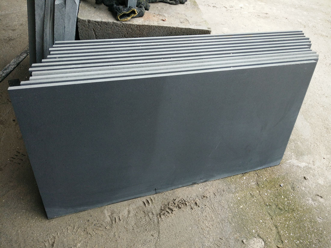 Competitive Monglia Black Basalt Tiles