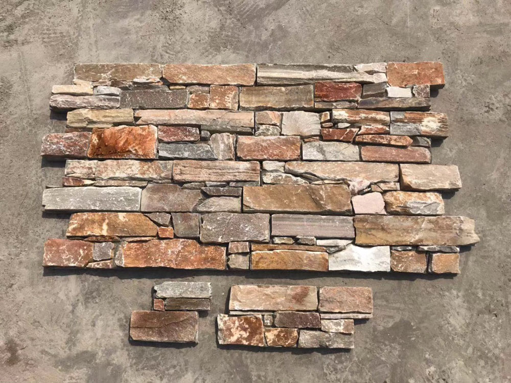 Competitive Quartzite Stone Natural Wall Stones