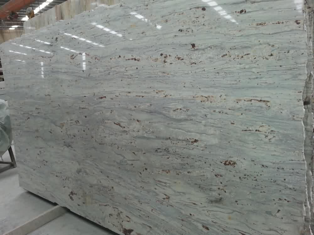 Competitive River White Granite Polished Slabs for Export