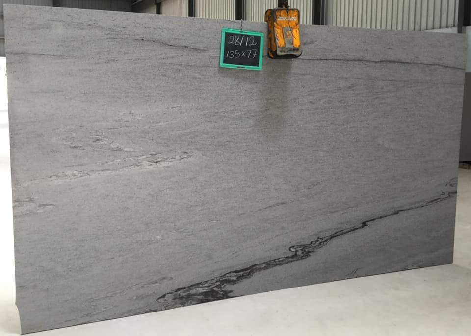 Competitive Snow White Granite Polished Slabs