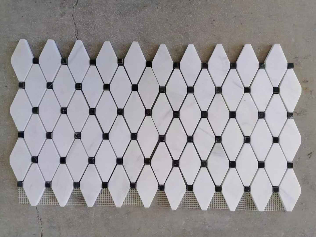 Competitive Thassos Marble White Mosaic for Walls