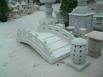 Competitive White Granite Stone Bridge