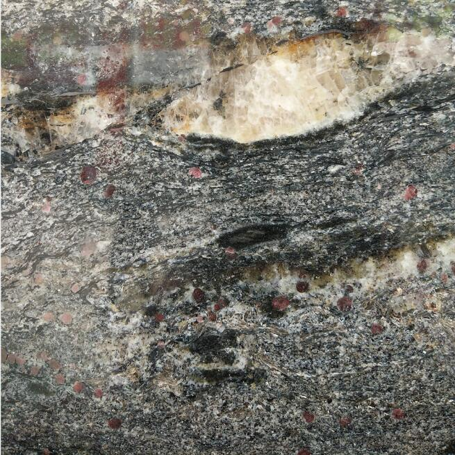Cosmic Black Granite Color