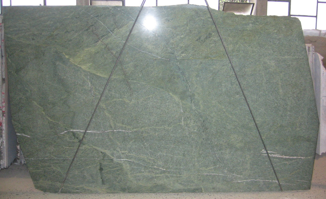 Costa Esmeralda Granite Slabs Polished Green Granite Stone Slabs
