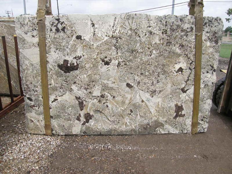 Crazy Horse White Granite Slabs
