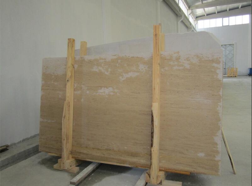 Cream Travertine Slabs Beige Travertine Stone Slabs
