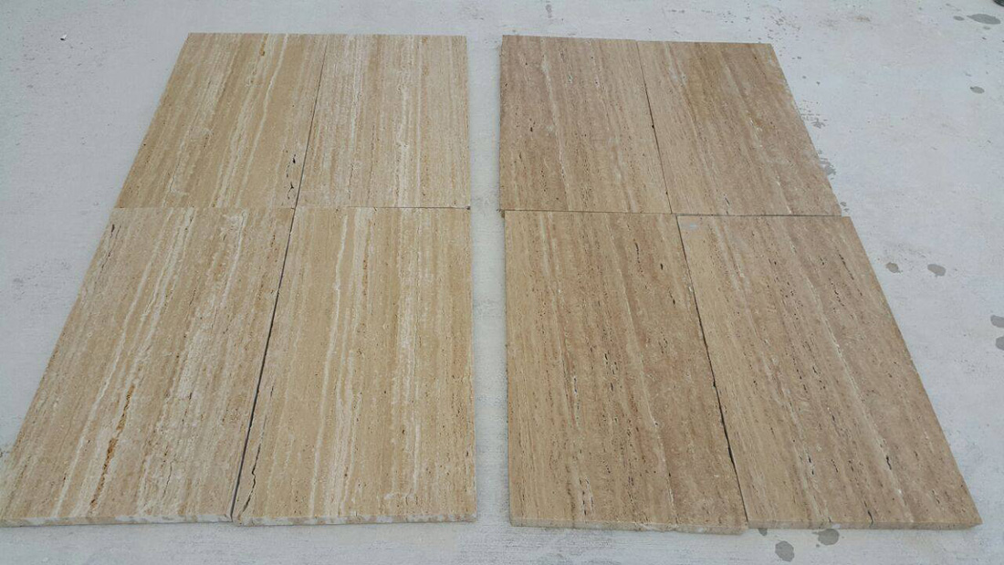 Cream Travertine Tiles Flooring Tiles from Turkey