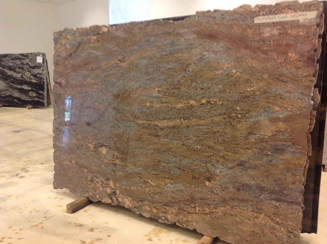 Crema Bordeaux Granite Slab Polished Big Slabs