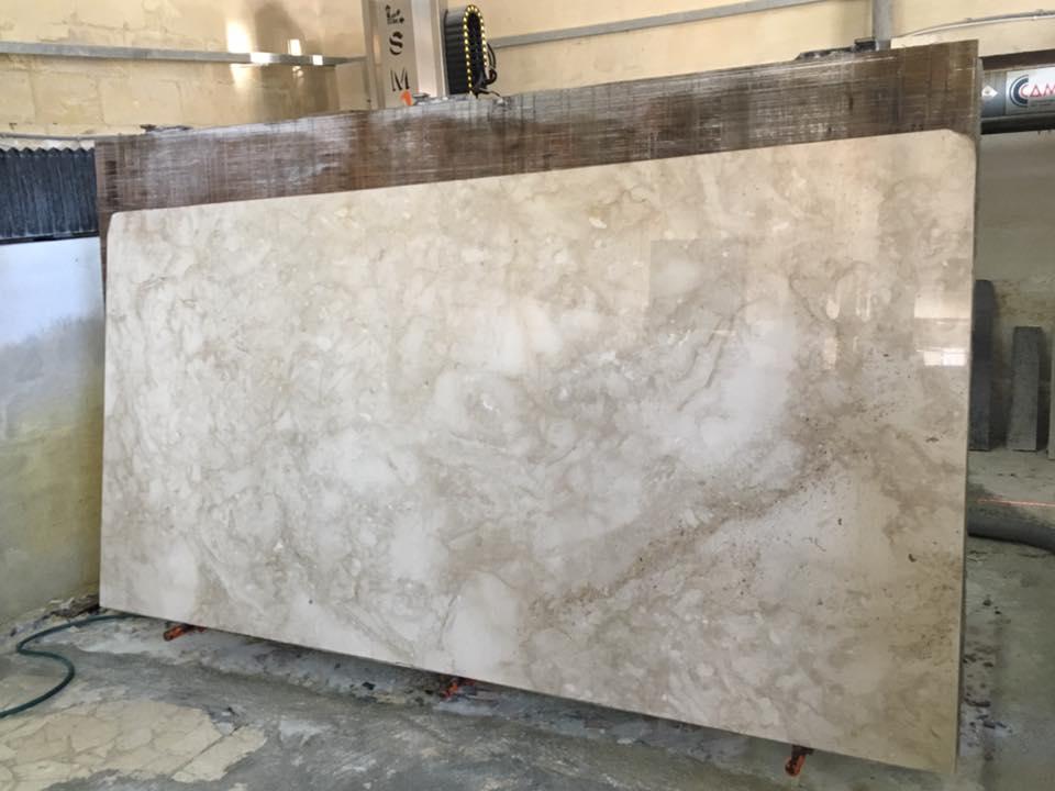 Crema Di Roccia Marble Slabs Beige Marble Slabs
