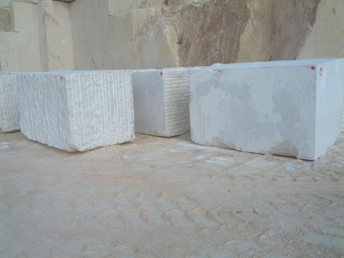 Crema Marfil Beige Marble Blocks