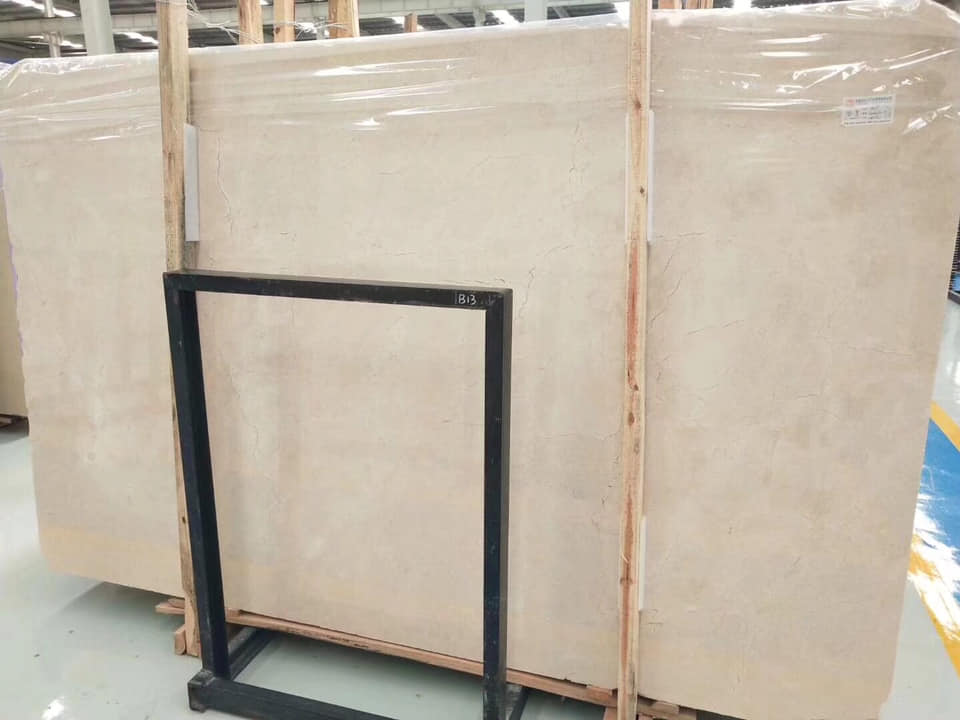 Crema Marfil Beige Marble Slabs Polished Slabs