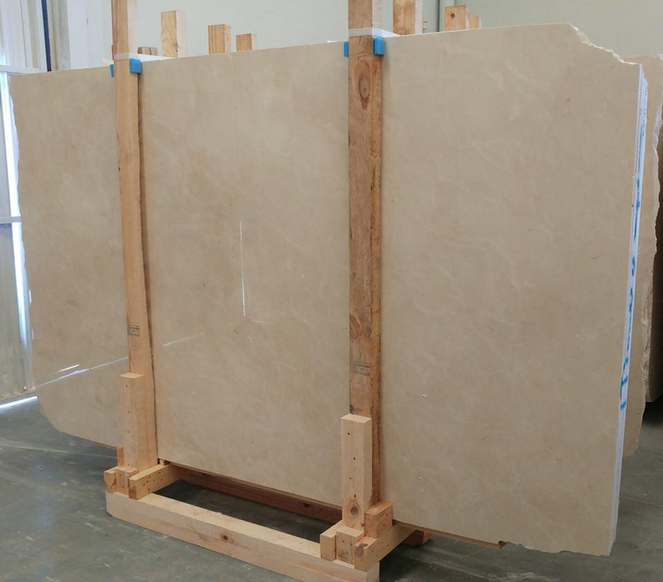 Crema Marfil Beige Marble Slabs from Spain
