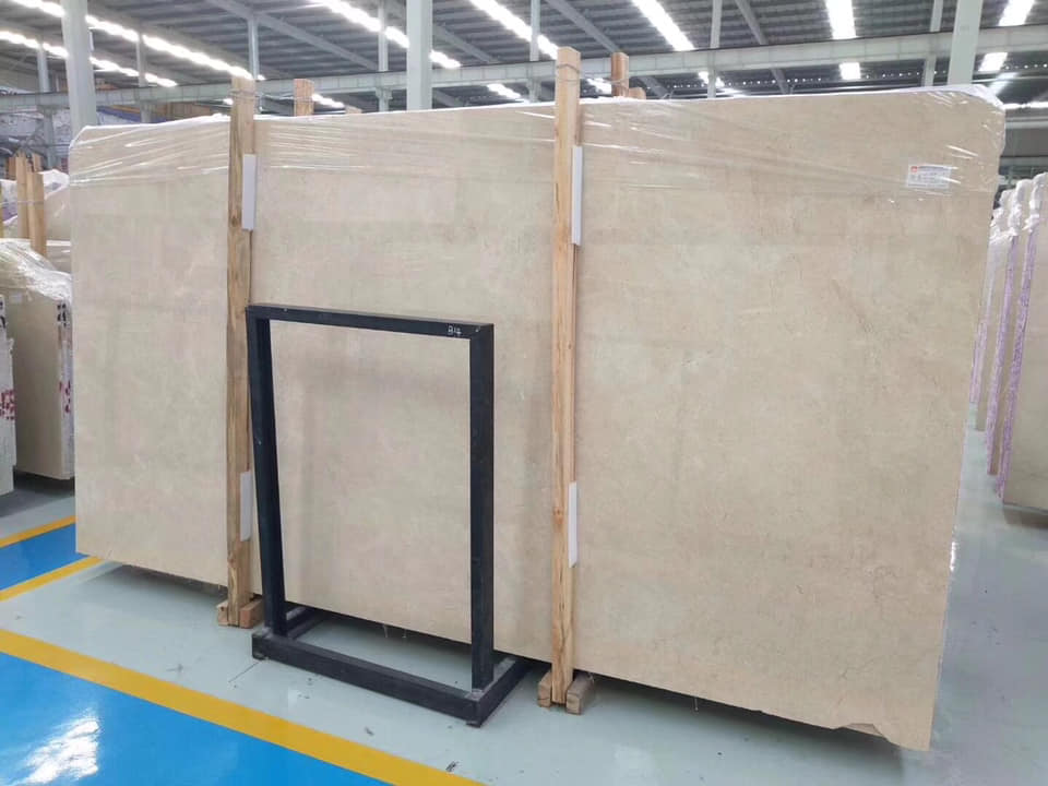 Crema Marfil Beige Marble Slabs with High Quality