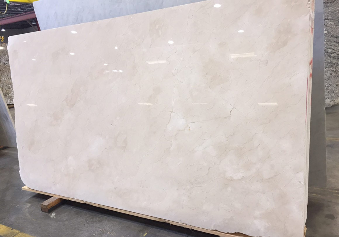 Crema Marfil Extra Marble Slab Top Quality Beige Marble Polished Slabs