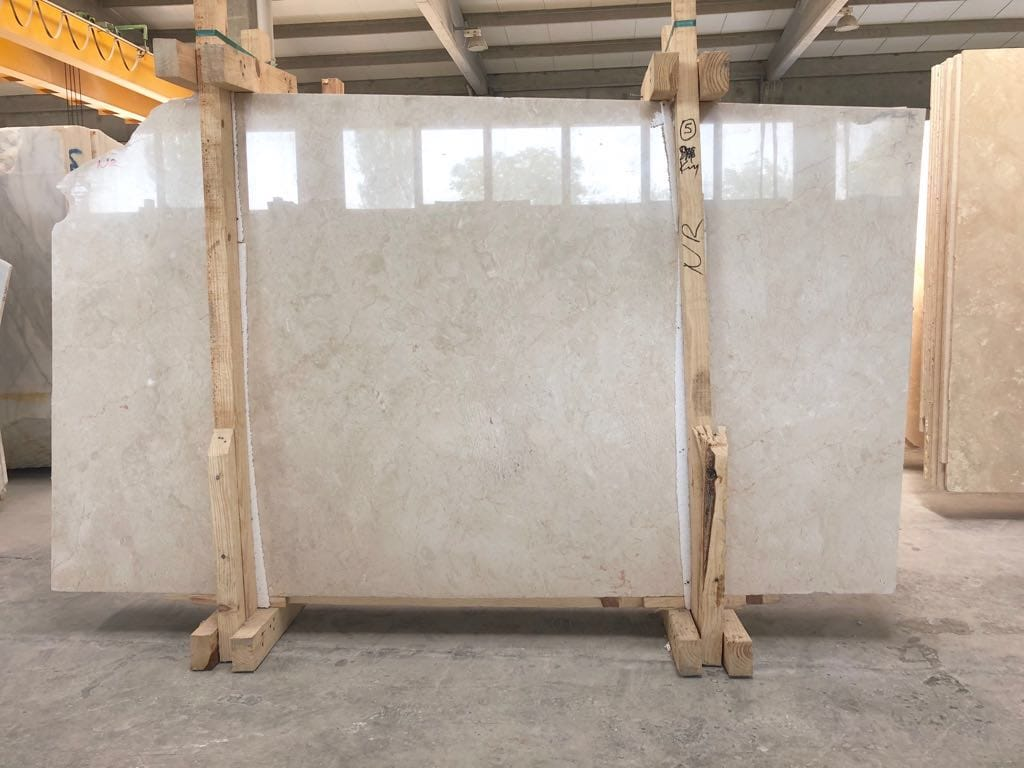 Crema Nouva Slabs Polished Beige Marble Slabs