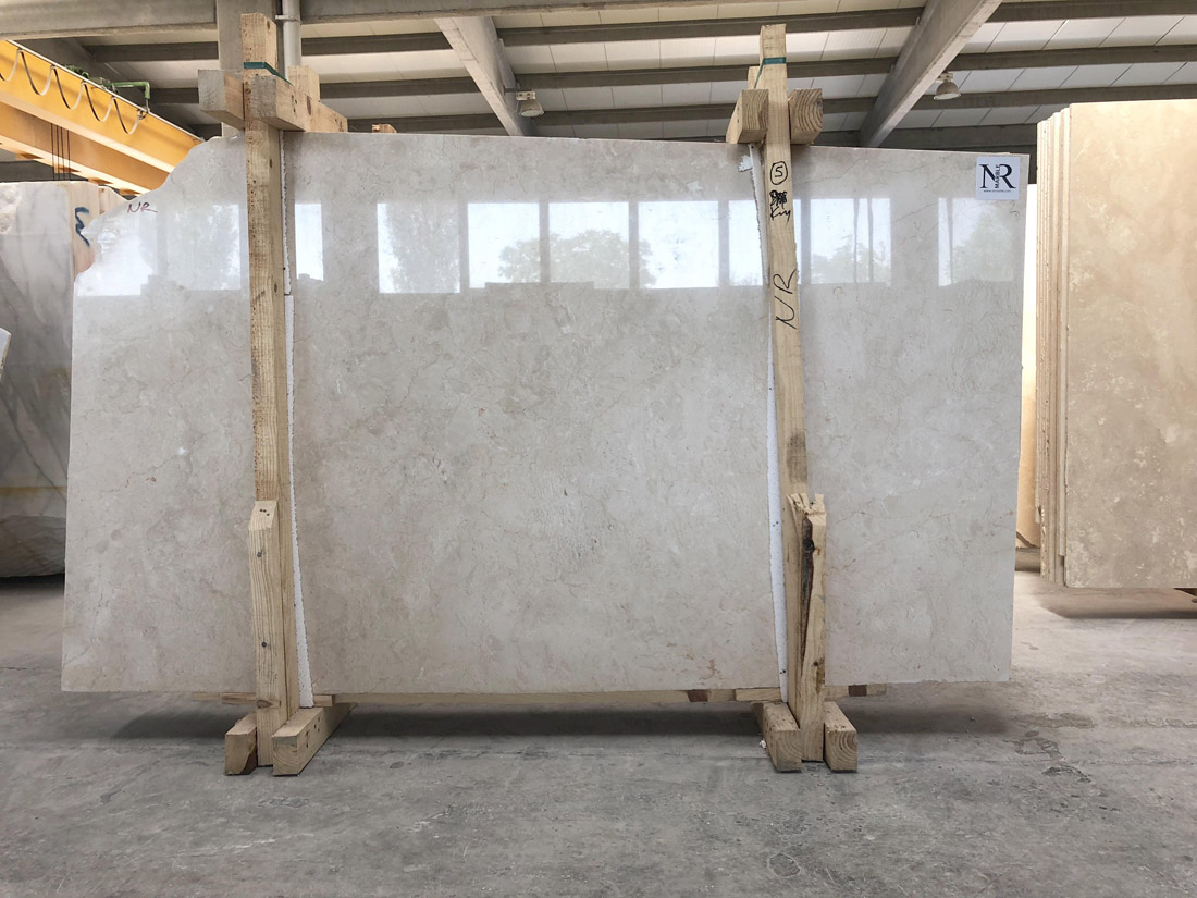 Crema Nouva Super Extra Beige Marble Slabs from Turkey