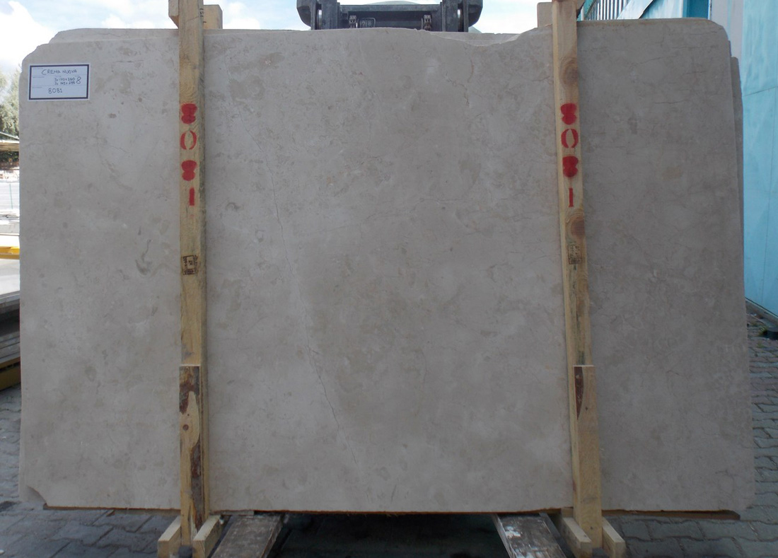 Crema Nuova Marble Beige Stone Slabs