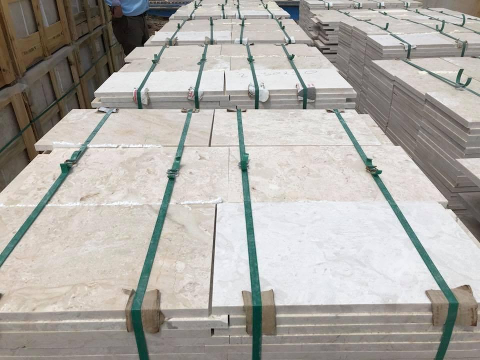 Crema Nuova Marble Tile Polished Beige Marble Flooring Tiles