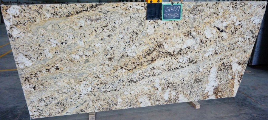 Crema Petra Slabs Indian Beige Granite Slabs