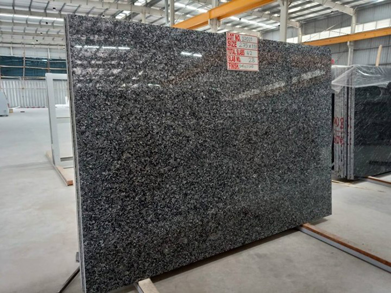 Crystal Blue Granite Slabs Polished Granite Slabs from India