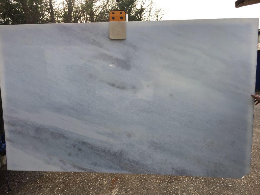 Crystal Blue Marble Slab Polished Natural Slabs