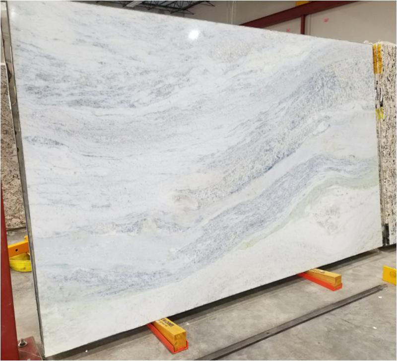 Crystal Blue Marble Slabs Polished Slabs