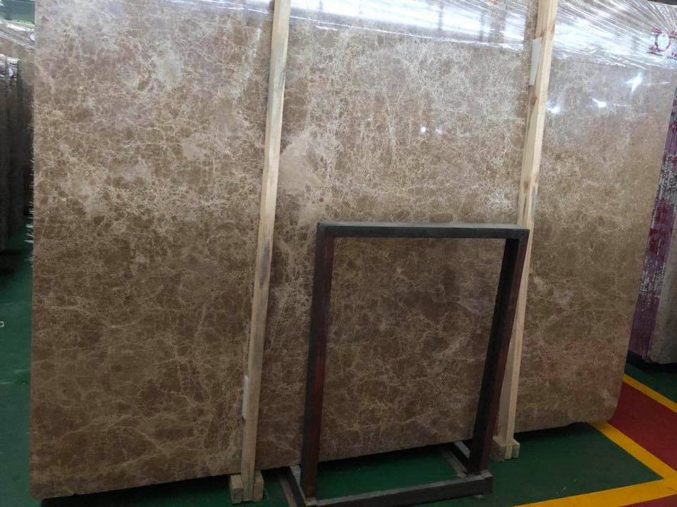 Crystal Emperador Marble Polished Slabs