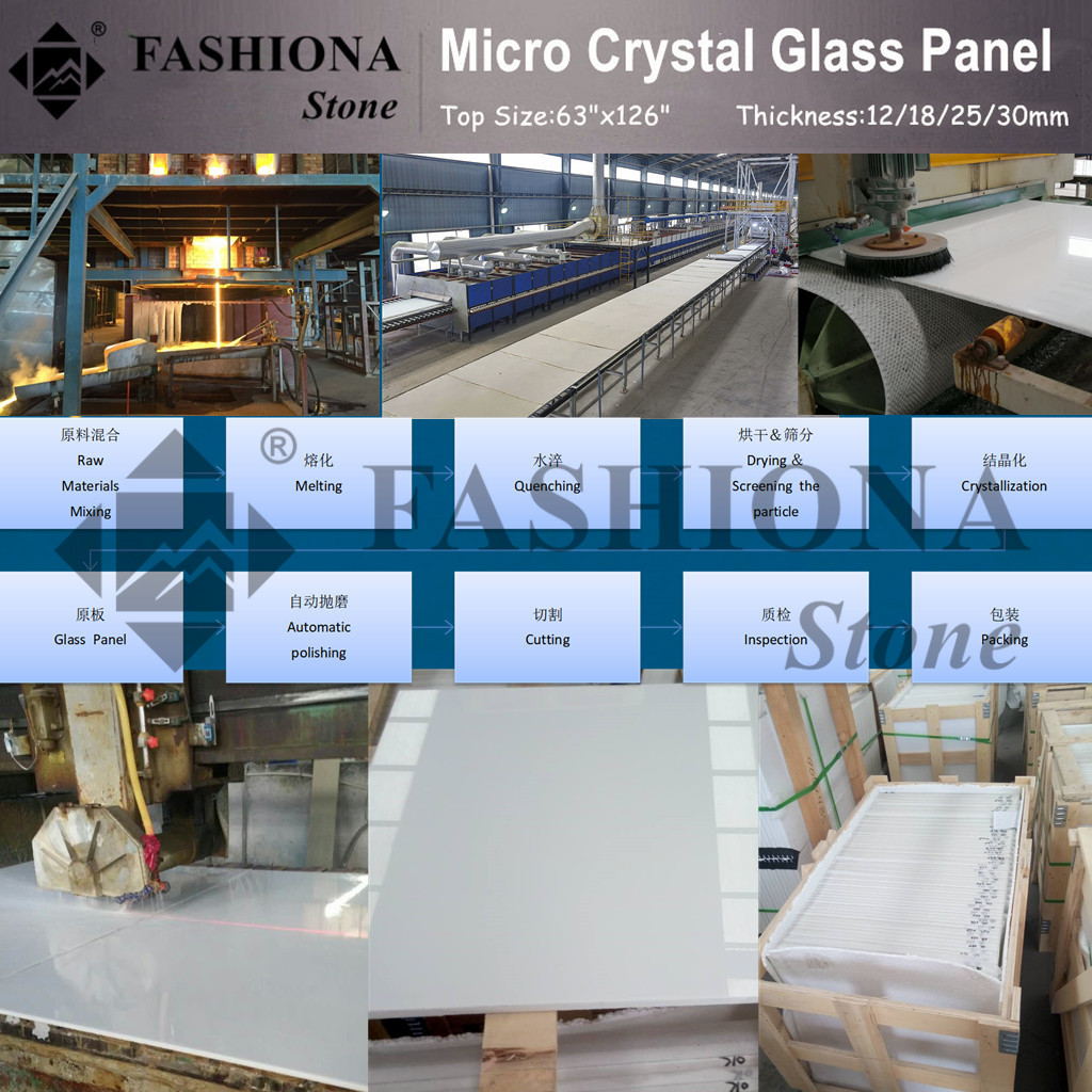 Crystal Glass Stone Artificial Stone