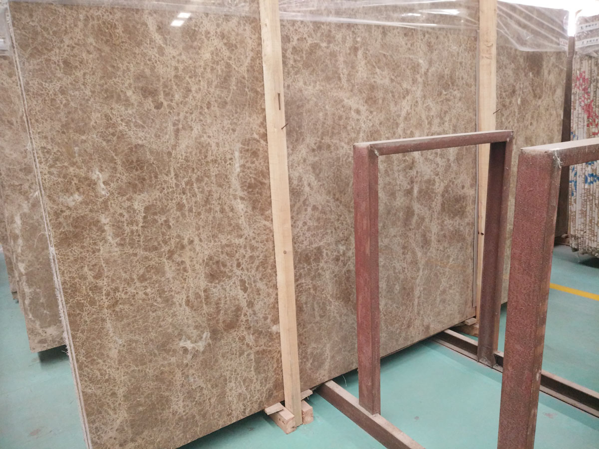 Crystal Light Emperador Marble Slabs