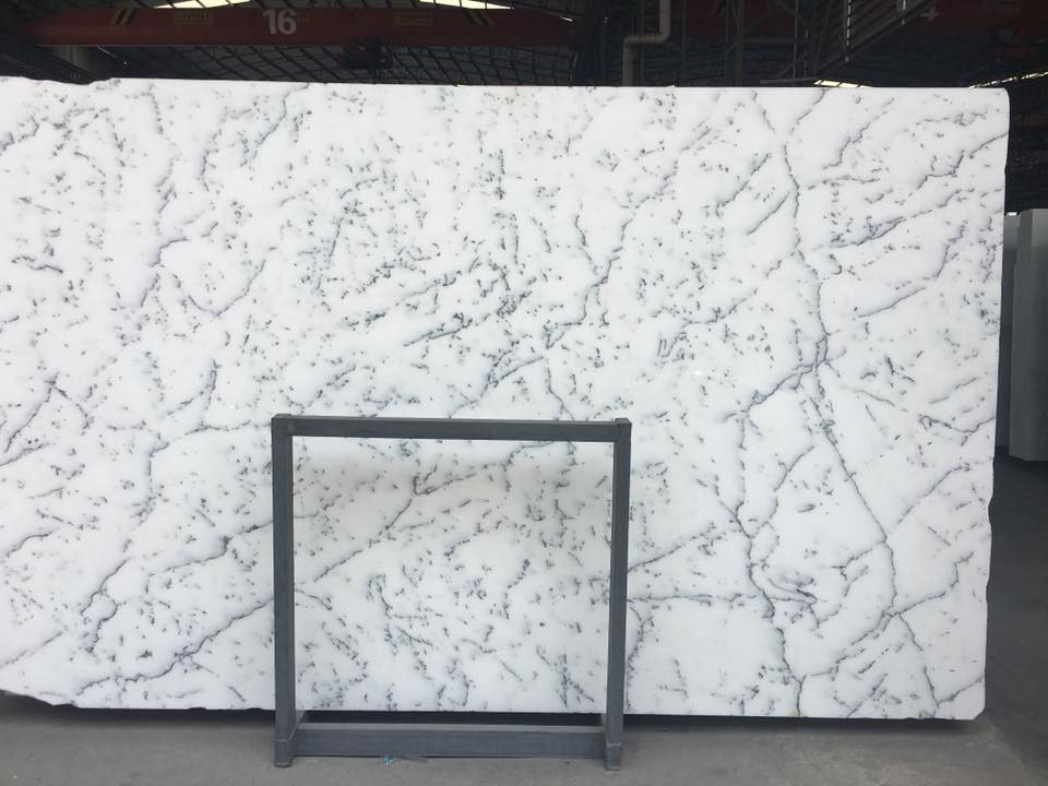 Crysta Snow White Marble Polished White Marble Slabs from Chinese Supplier