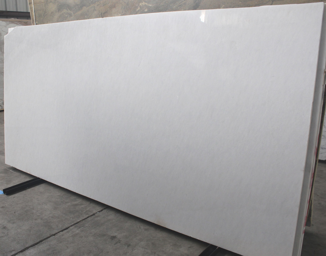 Crystal White Bianco Sivec Thassos Marble Marble Polished Slab for Project Decoration
