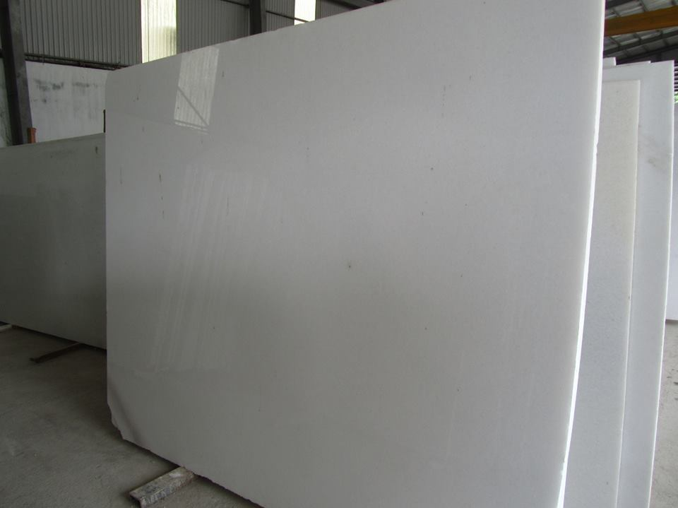 Crystal White Marble Slabs