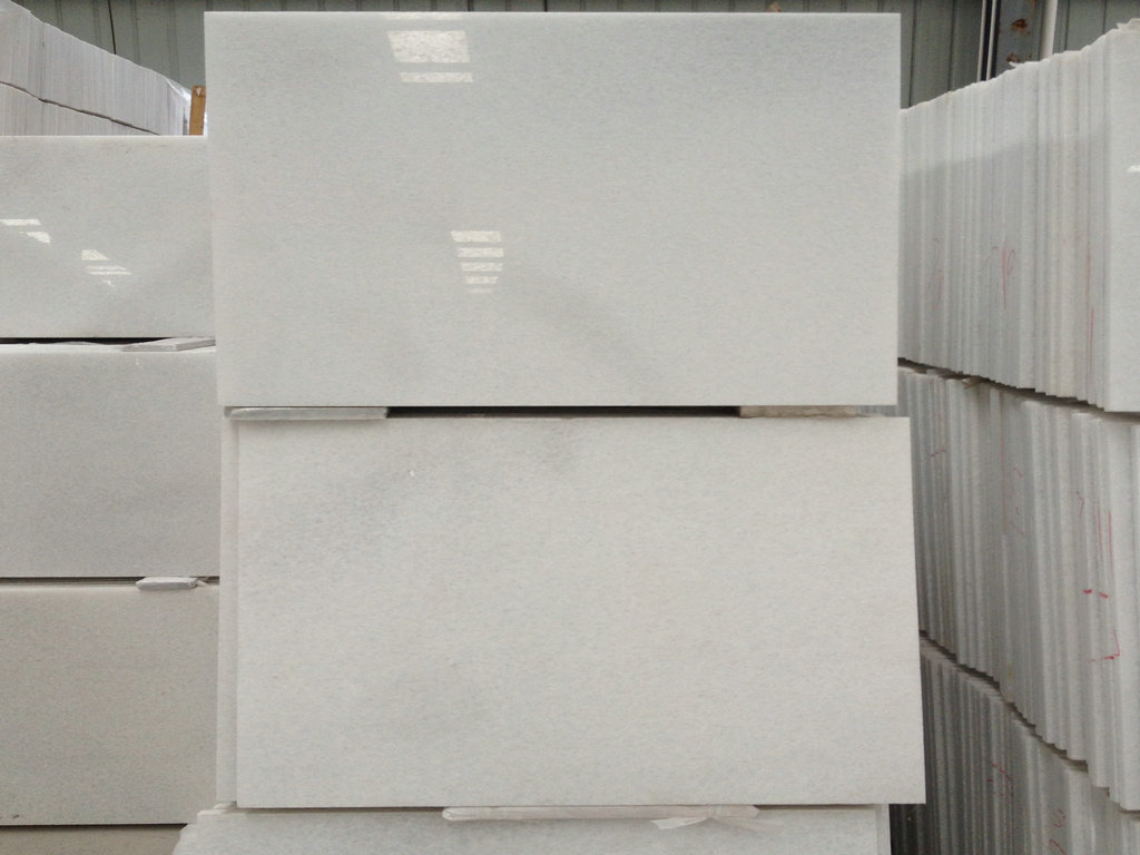 Crystal White Marble Tiles Polished Marble White Tiles