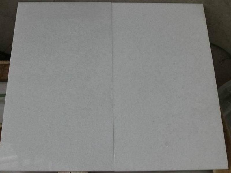 Crystal White Marble Tiles Polished White Flooring Tiles