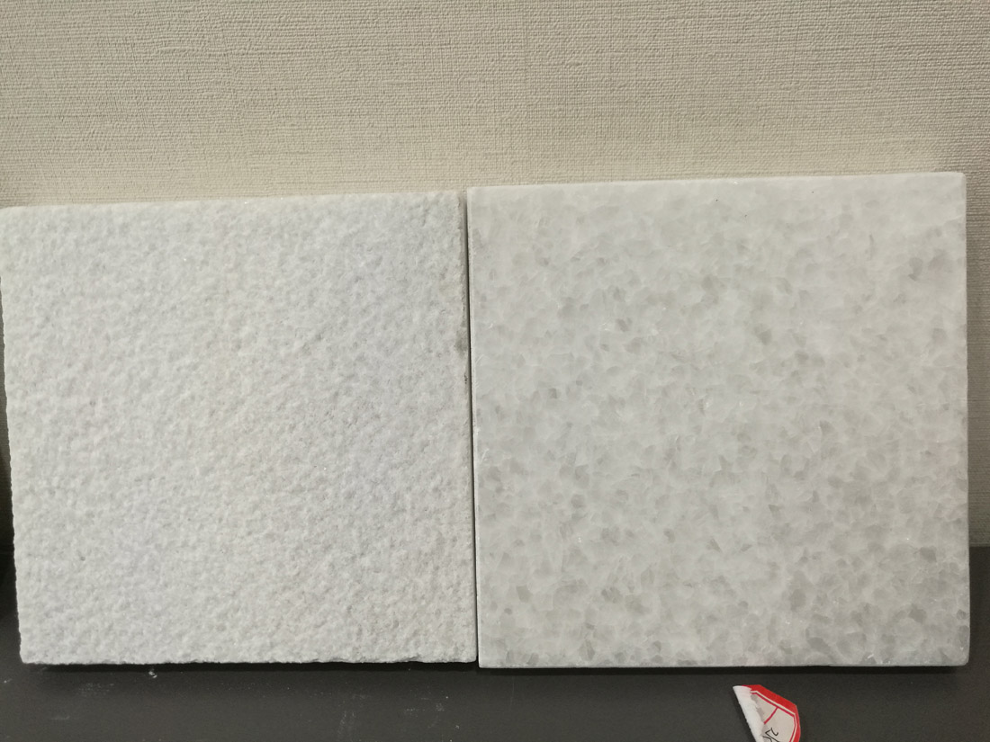 Crystal White Polished Antique 24x24 Marble Tile