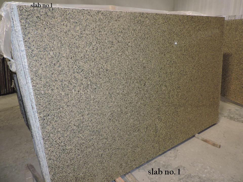Crystal Yellow Granite Polished 2cm Slabs