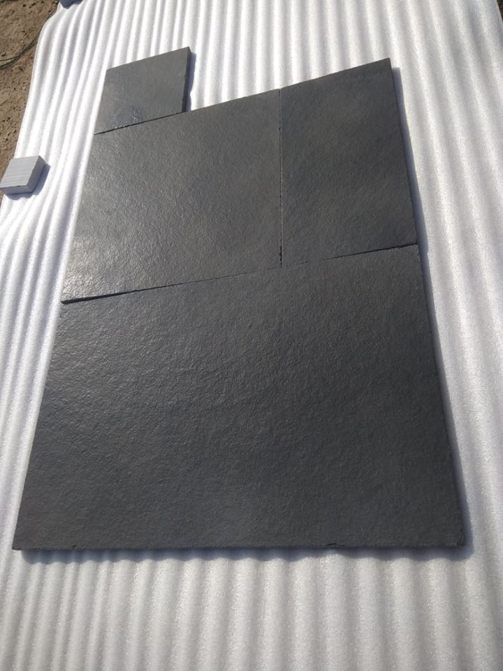 Cuddapah Black Limestone Tiles for Paving
