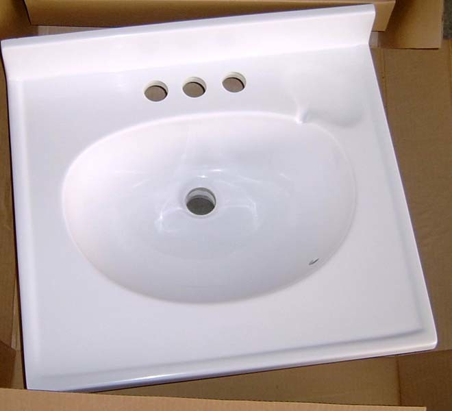 Bathroom White Vanity Top