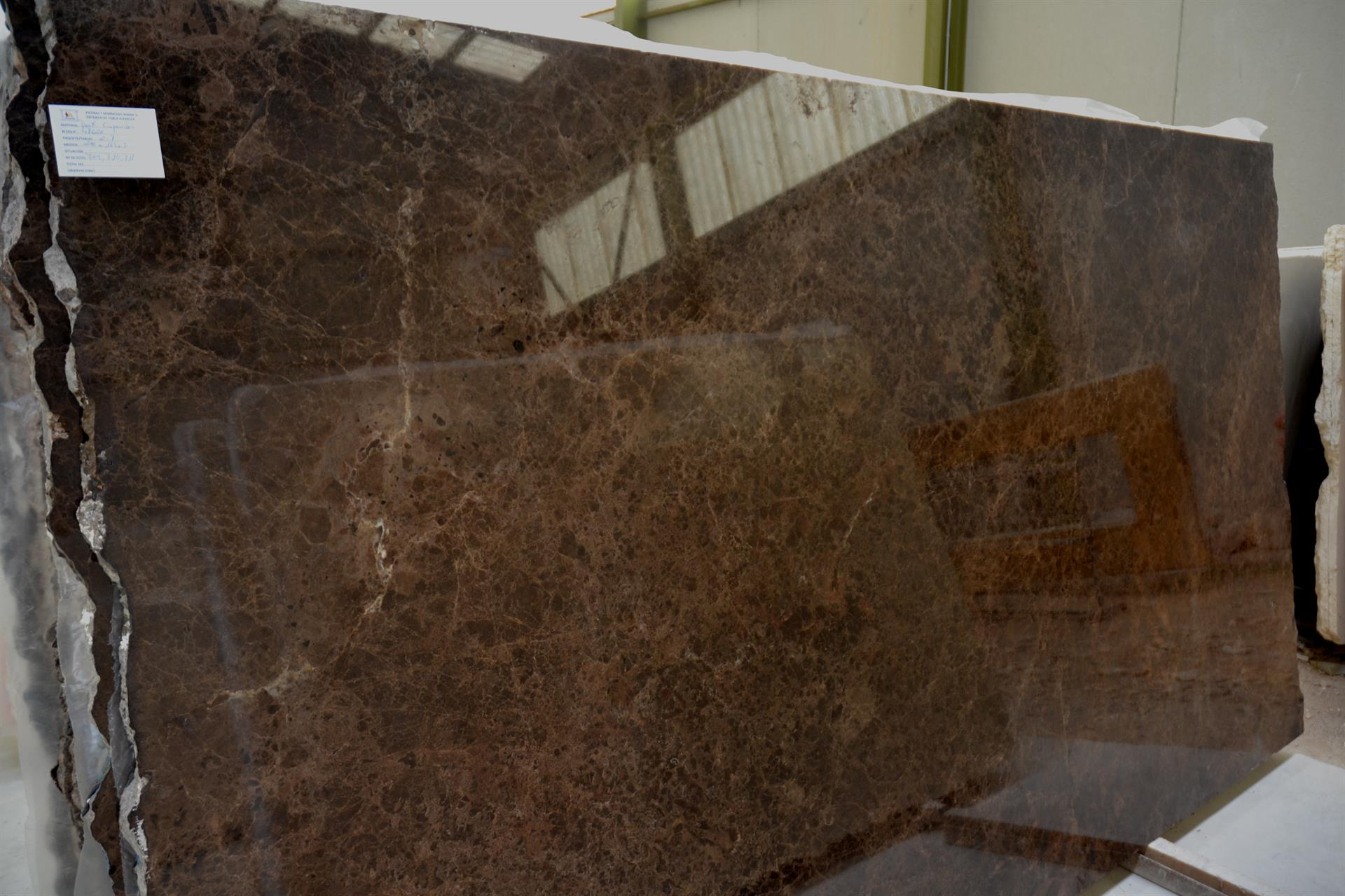 DARK EMPERADOR POLISHED SLABS