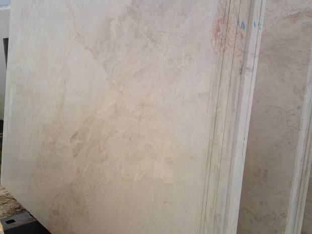 DESERT BEIGE Marble in Slabs Tiles