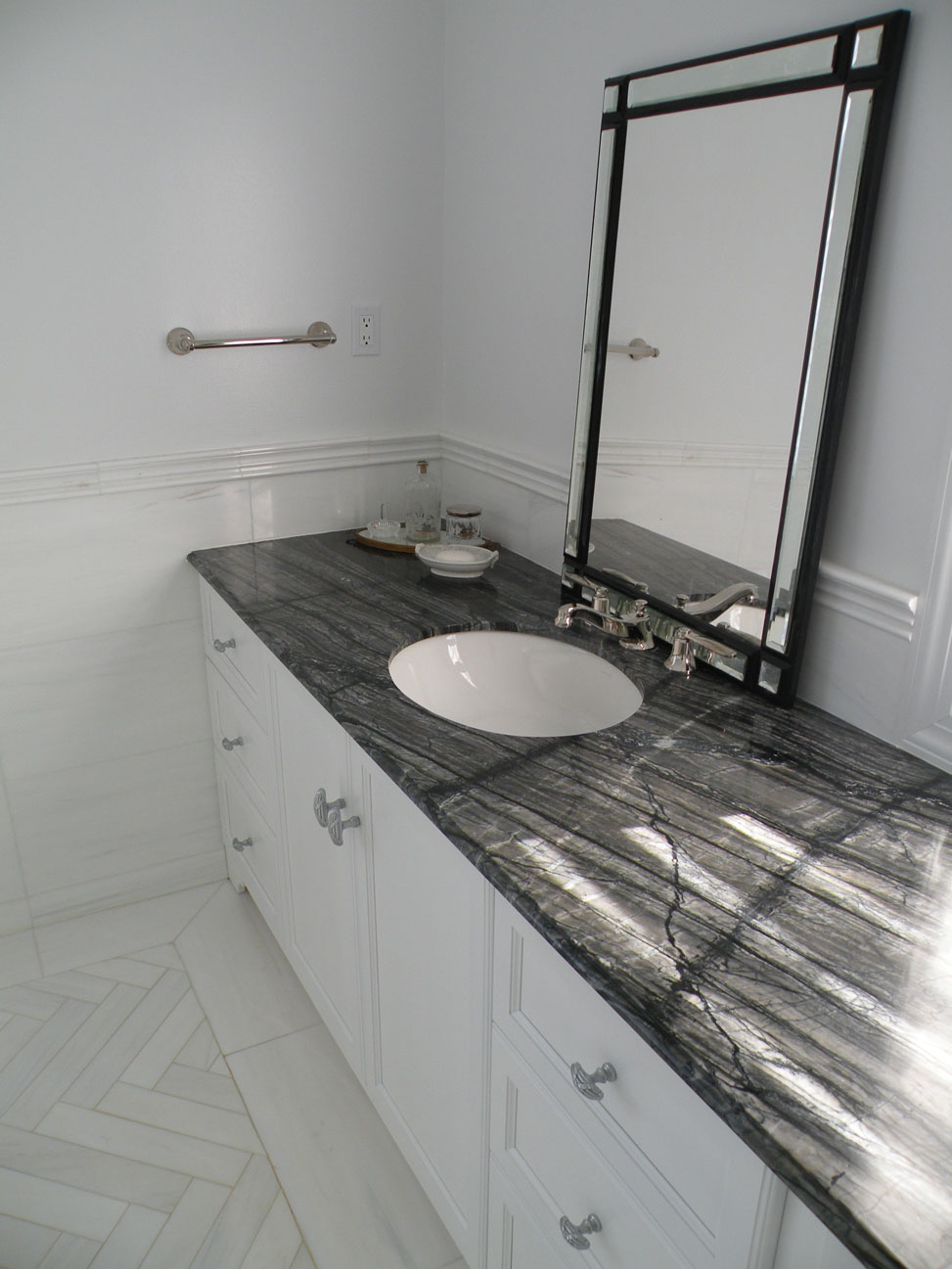 Black Vanity Tops Bathroom