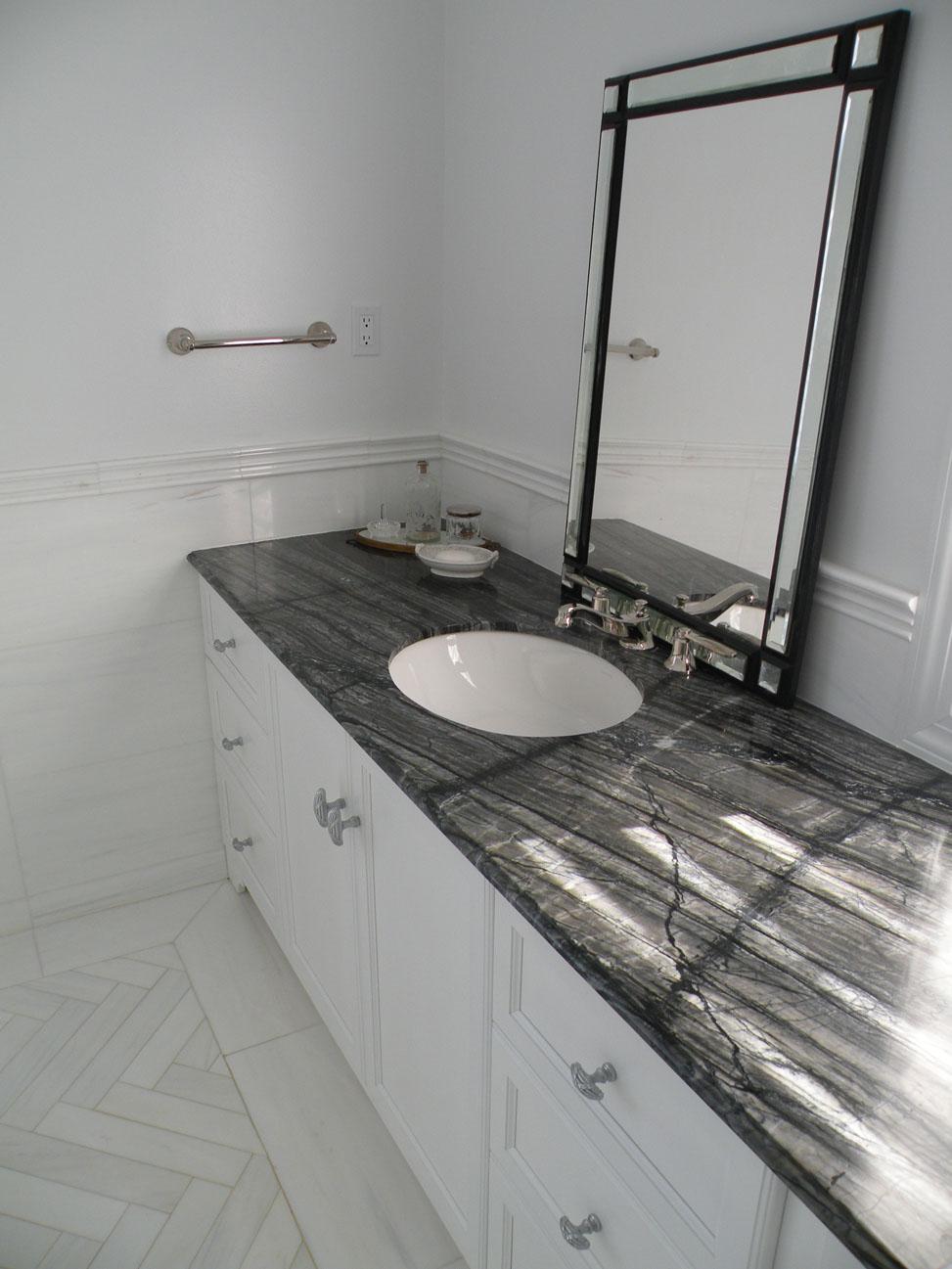 Black Vanity Tops Bathroom
