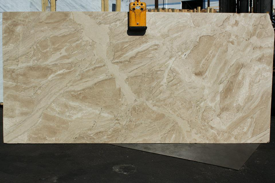 Daino Reale Marble Polished Beige Marble Slabs
