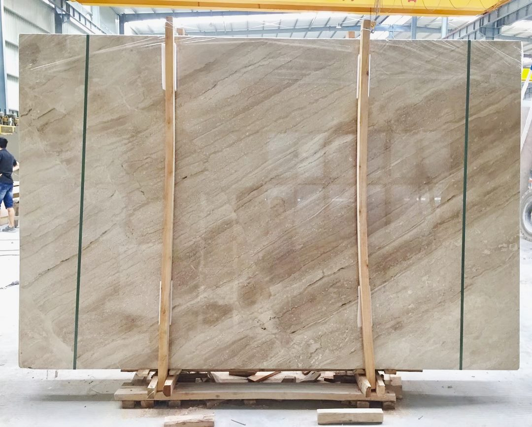 Daino Reale Marble Slabs Beige Polished Marble Slabs