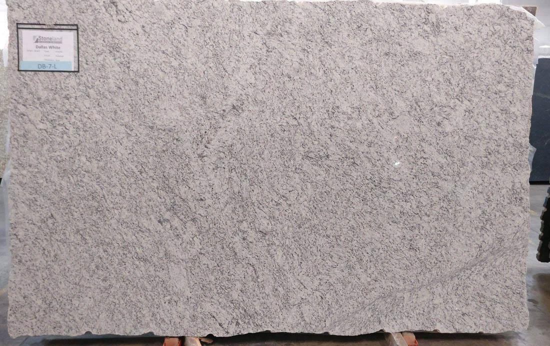 Dallas White Granite Slabs Polished White Granite Slabs
