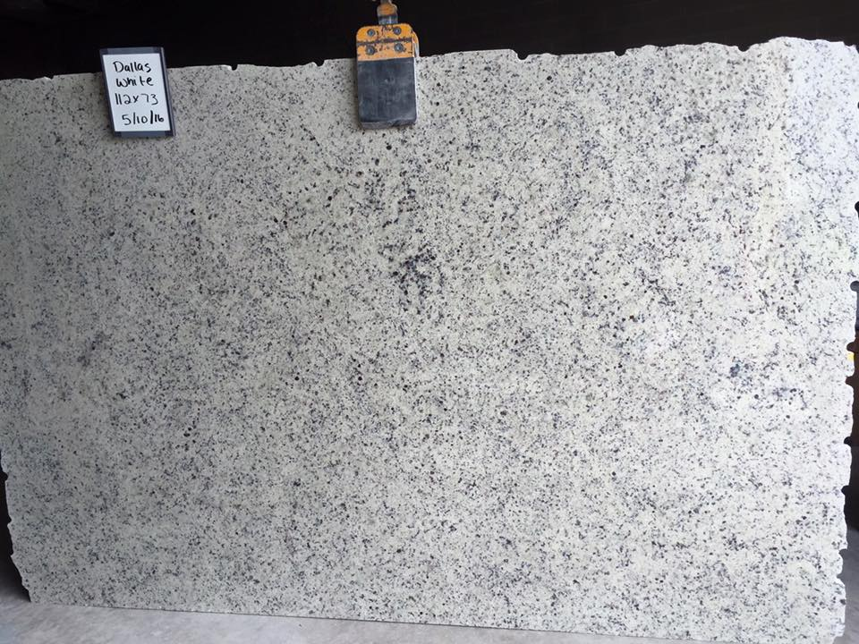 Dallas White Granite Slabs with High Quality