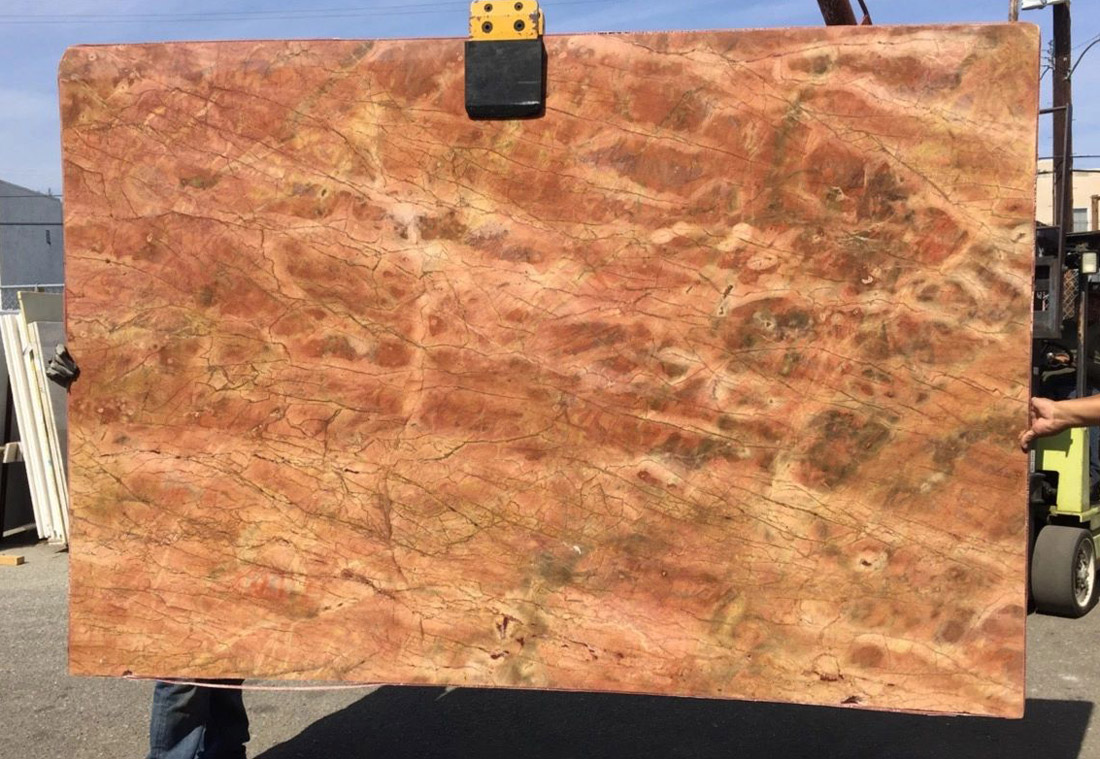 Damascus Red Marble Slabs Polished Marble Stone Slabs