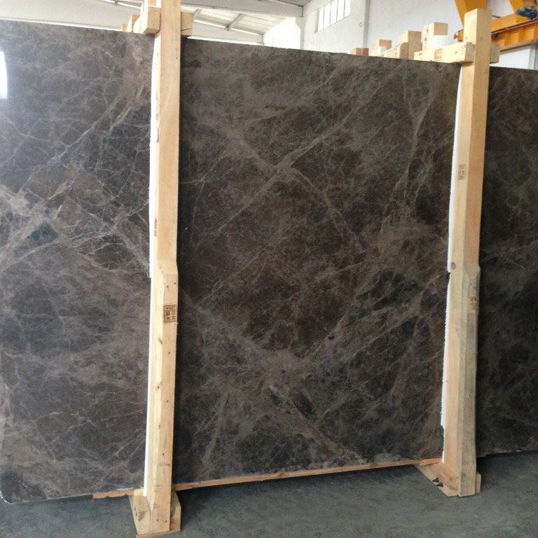 Dark Emperador Marble Polished Slabs Brown Marble Slabs